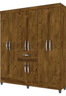Guarda Roupa Portugal Castanho Wood – Moval