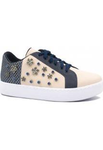 Tênis Zariff Shoes Flatform Pedras