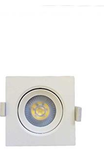 Spot Led Embutir Quadrado Branco 5W 6000K Embu Led