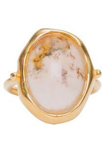 Anel Feminino Herbarium - Dourado