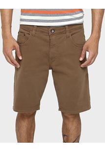 Bermuda Colcci Sarja Color Elastano - Masculino