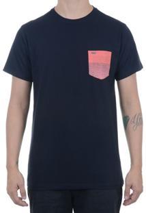 Camiseta Hurley Especial Bolso Estampado - Masculino