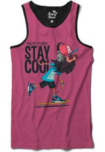 ... Camiseta Regata Long Beach Continue Curtindo Sublimada Masculina -  Masculino-Preto d9101257f62
