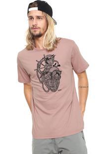 Camiseta Mcd Dark Rosa