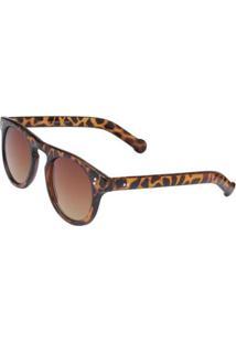 Óculos Ray Flector Vtg504 Feminino - Feminino-Marrom+Preto