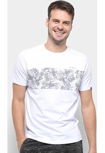 Camiseta O'Neill Floral Stripes Masculina - Masculino