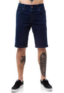 Bermuda Jeans Fallen Taped Masculina - Masculino