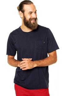 Camiseta Triton Bolso Azul