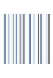 Papel De Parede Lyam Decor Coleçáo Bambinos Listras 3318 Bobinex Azul