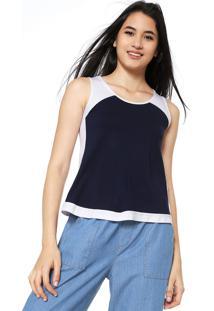 f0aec3089 ... Regata Malwee Color Azul-Marinho Branca