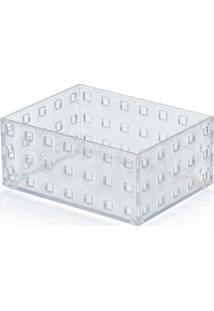 Caixa Organizadora Modular 02 756Ml Cristal Arthi