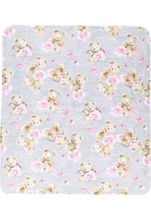 Lapin House Cobertor De Ursinhos - Cinza