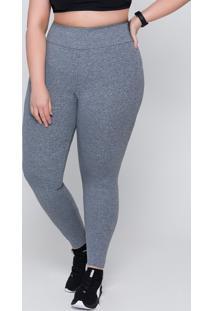 Calça Legging Plus Size Selene (24935-001) Sem Costura