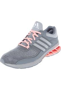 Tênis Adidas Performance Runway Estampa Cinza