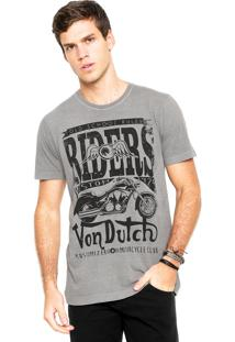 Camiseta Von Dutch Riders Cinza