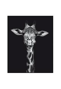 Quadro Decorativo Barcelona Girafa Pb 40X50 Cm