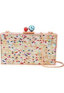 Sophia Webster Crystal Embellished Clutch - Estampado