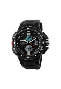 Relógio Skmei Masculino -1148- Preto