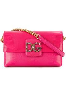 Dolce & Gabbana Bolsa Tiracolo 'Dg Millennials' - Rosa