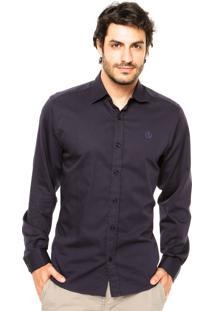 Camisa Forum Regular Azul-Marinho