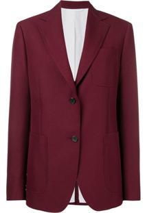 Calvin Klein 205W39Nyc Blazer Slim - Vermelho