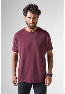 Camiseta Reserva T Mescla - Masculino-Bordô