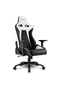 Cadeira Gamer Sharkoon Elbrus 3, Black White