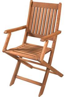 Cadeira Com Braã§O Dobrã¡Vel - Jatobã¡