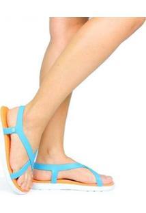 Sandália Paikea Moorea Feminina - Feminino-Azul