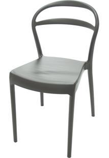Cadeira Sissi Com Encosto Vazado Marrom 92047109 Tramontina