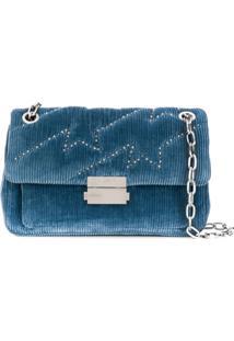 Zadig&Voltaire Ziggy Stardust Shoulder Bag - Azul