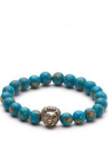 Pulseira Trendy4Man Lion Azul