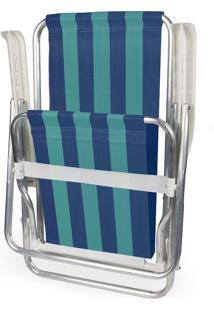 Cadeira Reclinável Alumínio 4 Posições 2229