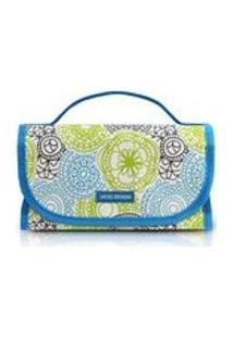 Necessaire Rocambole My Lolla Poliéster Azul - Jacki Design