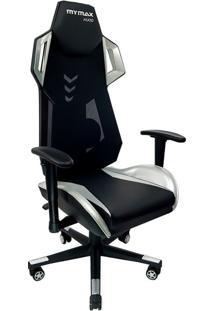 Cadeira Gamer Mx Ten Preta E Prata