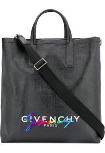 Givenchy Bolsa Tote Com Logo - Preto
