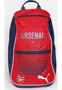 Mochila Arsenal® Fanwear Backpack -Azul Marinho & Vermelpuma