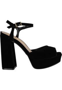 Sandalia Salto Reto Via Uno 63651012