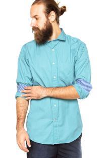 Camisa Nautica Listras Verde