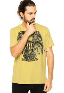 Camiseta Colcci Gavião Amarela