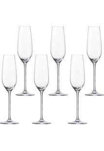 Taça Champagne Schott Fortissimo 6 Peças 240Ml - 30212