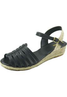 Anabela S2 Shoes Vege Preto