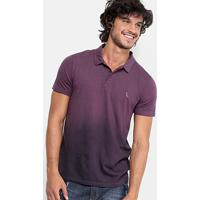 Camisa Polo Reserva Degradê Masculina - Masculino-Bordô 3a05be076b47e