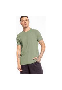 Camiseta Slim Optical - Verde - Live!