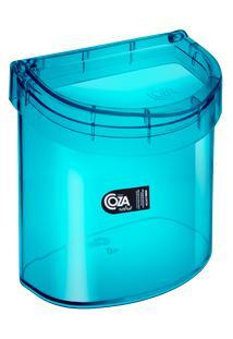 Lixeira Para Pia Glass 20,3 X 14,6 X 21,3 Cm 2,7 L Verde Coza