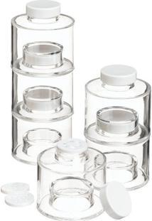 Torre Porta Condimentos Temperos Spice Jar Tower Thata Esportes - Tricae