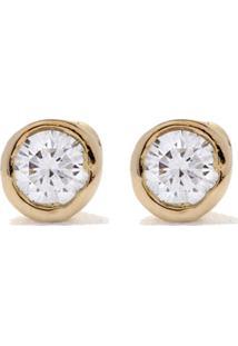 Wouters & Hendrix Gold 18Kt Diamond Stud Earrings - Yellow Gold