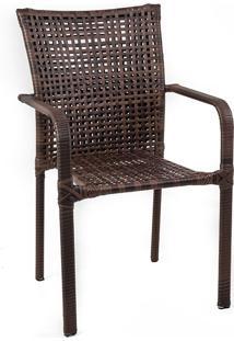 Cadeira C406 - Alegro - Castanho