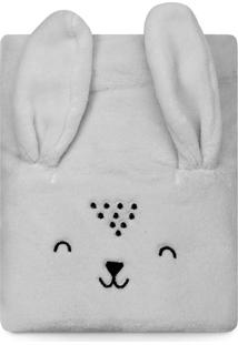 Cobertor Papi Microfibra Bichuus Cinza
