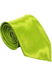 Gravata Unyforme Tradicional Verde Limão